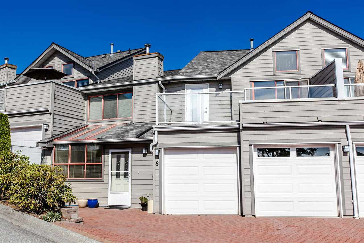 Main Photo: 8 323 GOVERNOR'S Court in New Westminster: Fraserview NW Townhouse for sale : MLS®# R2207021