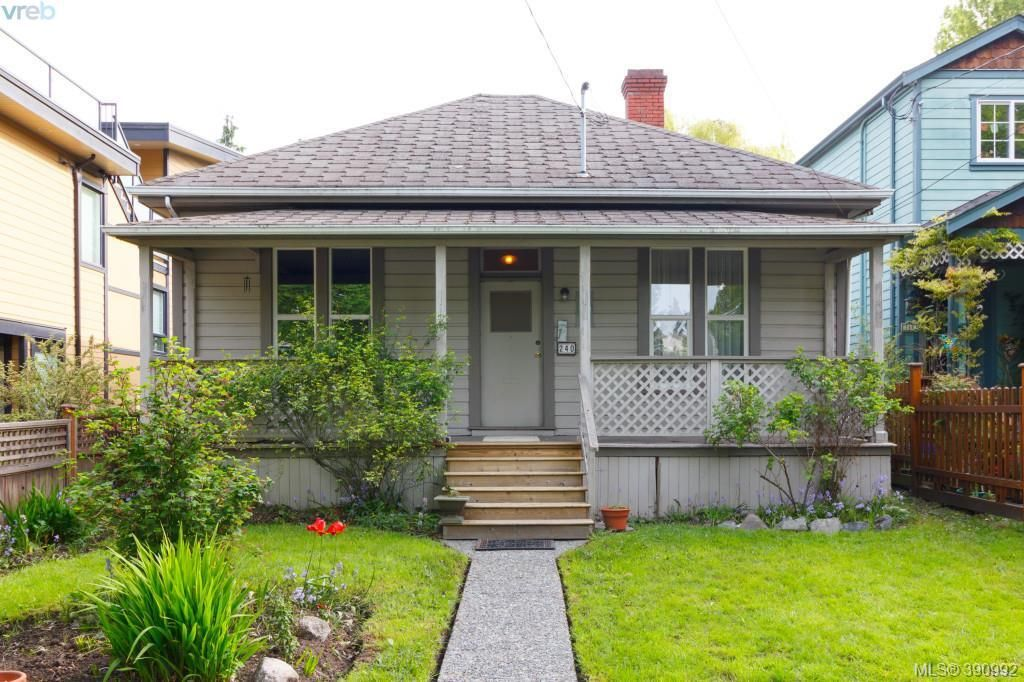 Main Photo: 240 Superior Street in VICTORIA: Vi James Bay Single Family Detached for sale (Victoria)  : MLS®# 390992