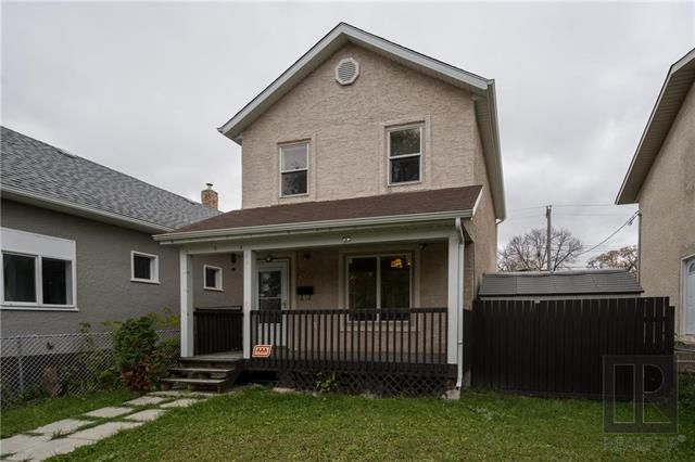 Main Photo: 434 Magnus Avenue in Winnipeg: Residential for sale (4A)  : MLS®# 1827758