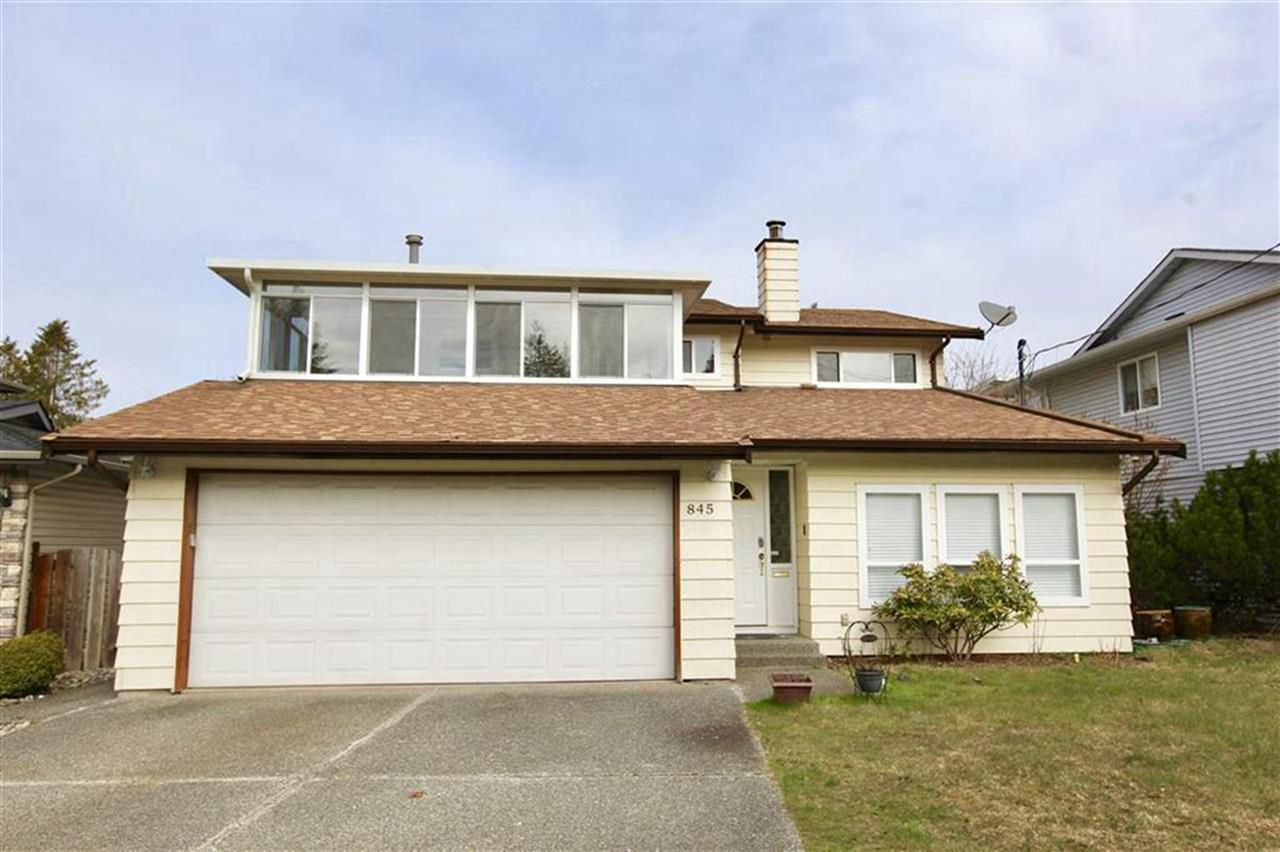 Main Photo: 845 GROVER Avenue in Coquitlam: Coquitlam West House for sale : MLS®# R2321567