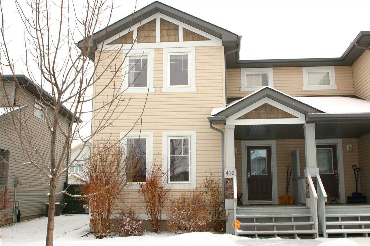 Main Photo: 410 CHARLOTTE Crescent: Sherwood Park House Half Duplex for sale : MLS®# E4139520