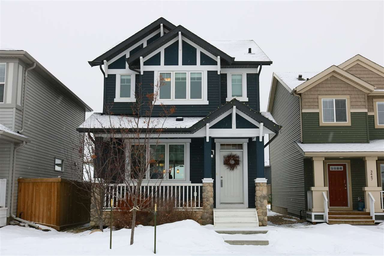 Main Photo: 3449 CUTLER Crescent in Edmonton: Zone 55 House for sale : MLS®# E4140941