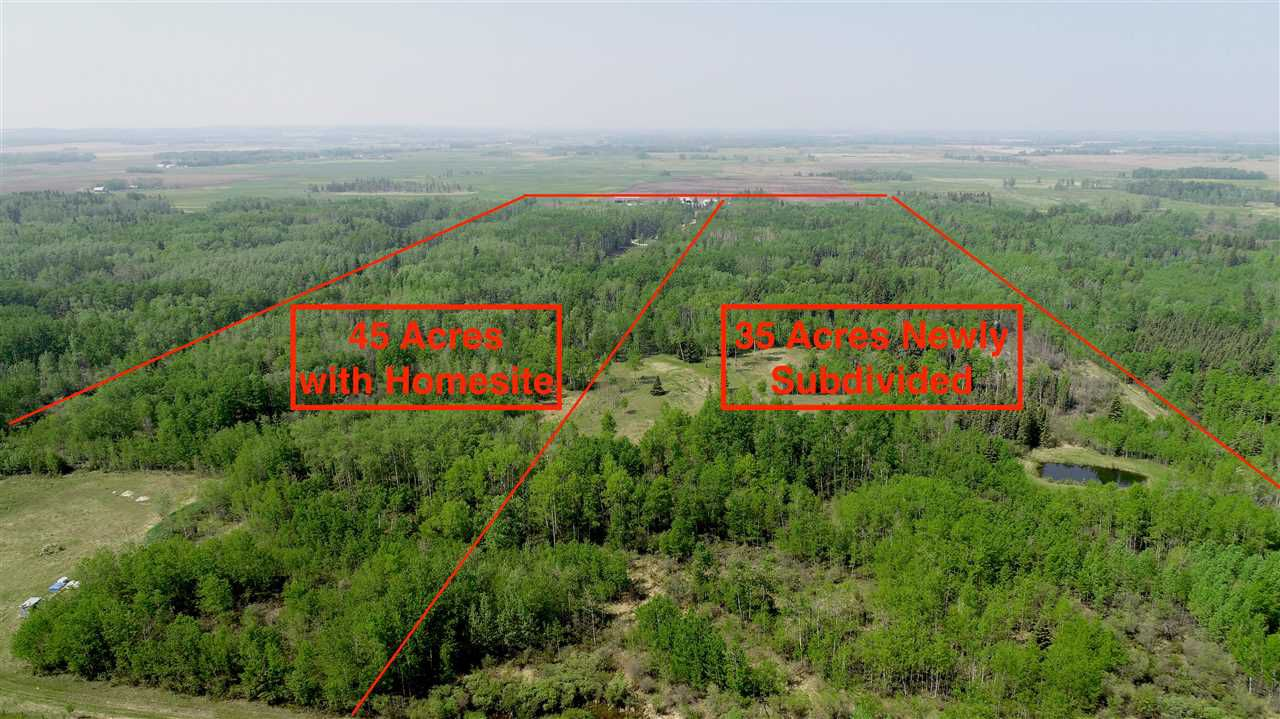 Main Photo: 48235 RGE RD 10: Rural Leduc County Rural Land/Vacant Lot for sale : MLS®# E4159489