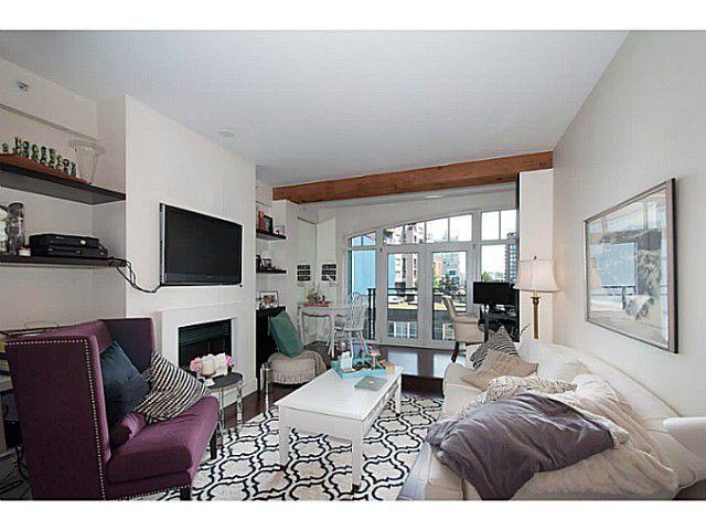 "Main Photo: 408 1275 HAMILTON Street in Vancouver: Yaletown Condo for sale in ""Alda"" (Vancouver West)  : MLS®# V1130655"