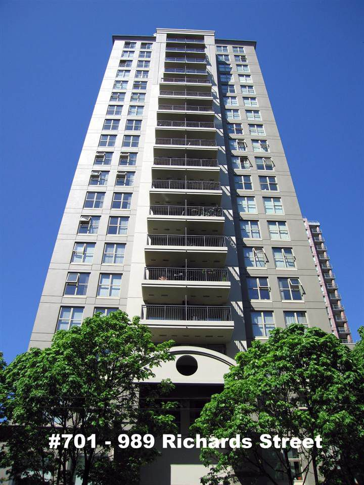 """Main Photo: 701 989 RICHARDS Street in Vancouver: Downtown VW Condo for sale in """"MONDRIAN"""" (Vancouver West)  : MLS®# R2061790"""