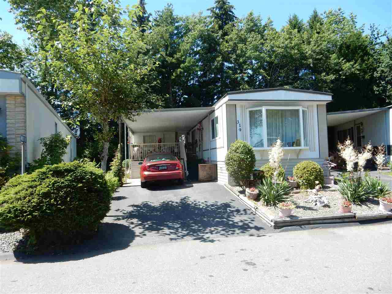 "Main Photo: 319 1840 160 Street in Surrey: King George Corridor Manufactured Home for sale in ""Breakaway Bays"" (South Surrey White Rock)  : MLS®# R2086664"