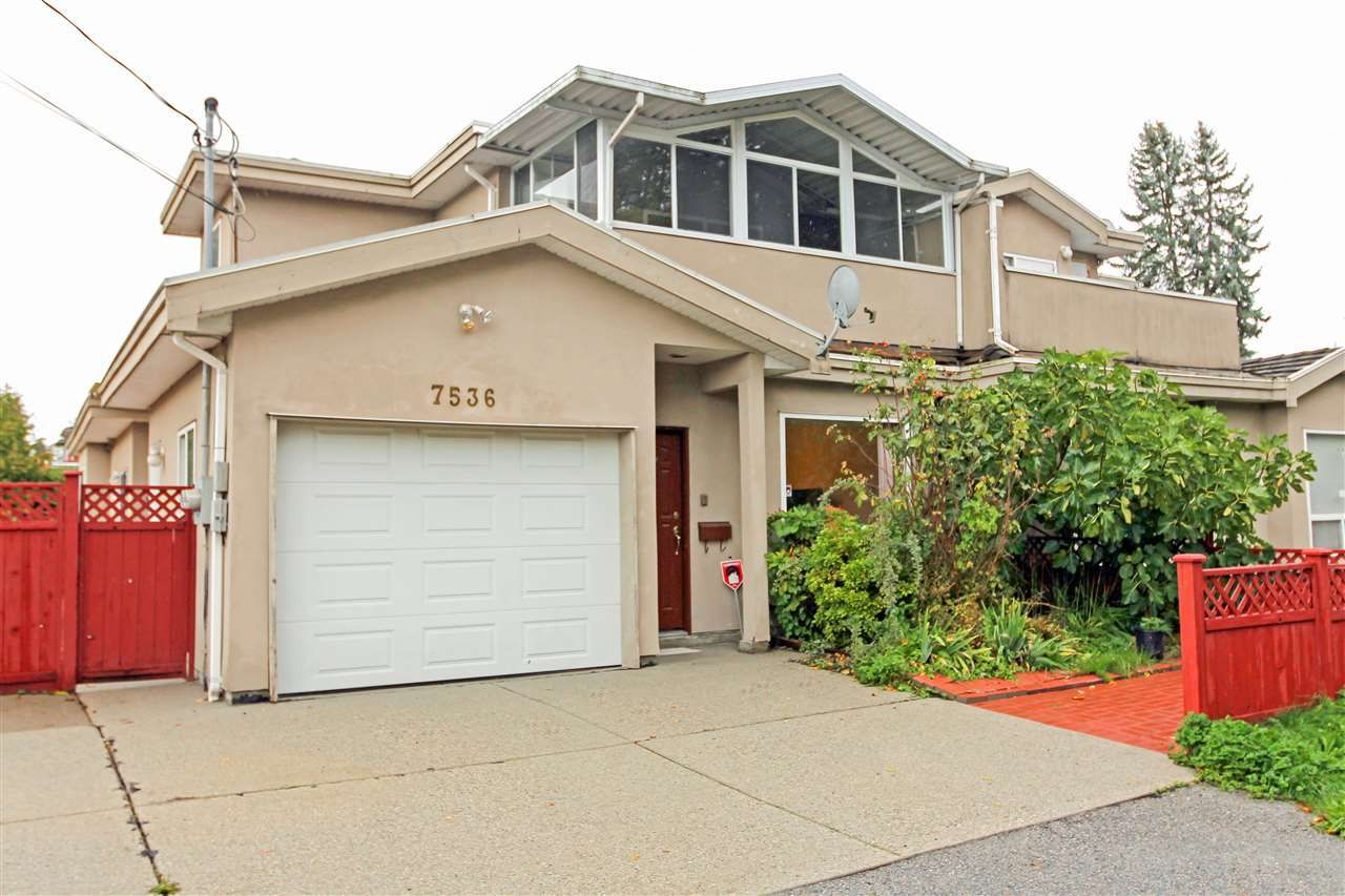 Main Photo: 7536 16TH Street in Burnaby: Edmonds BE House 1/2 Duplex for sale (Burnaby East)  : MLS®# R2117033
