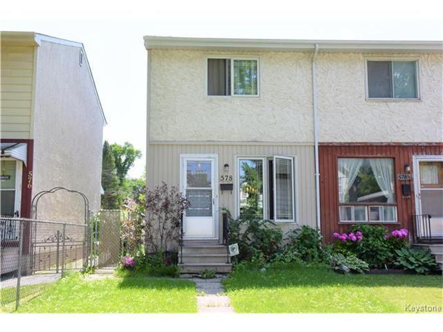 Main Photo: 578 Bannerman Avenue in Winnipeg: Residential for sale (4C)  : MLS®# 1708235