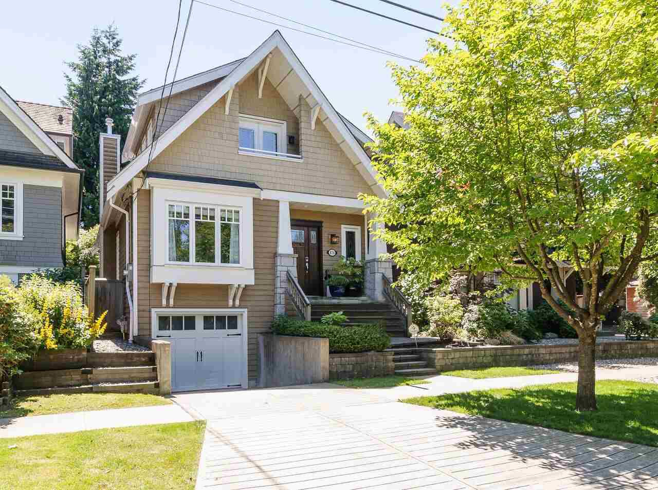Main Photo: 876 W 23RD AVENUE in Vancouver: Cambie House for sale (Vancouver West)  : MLS®# R2182142