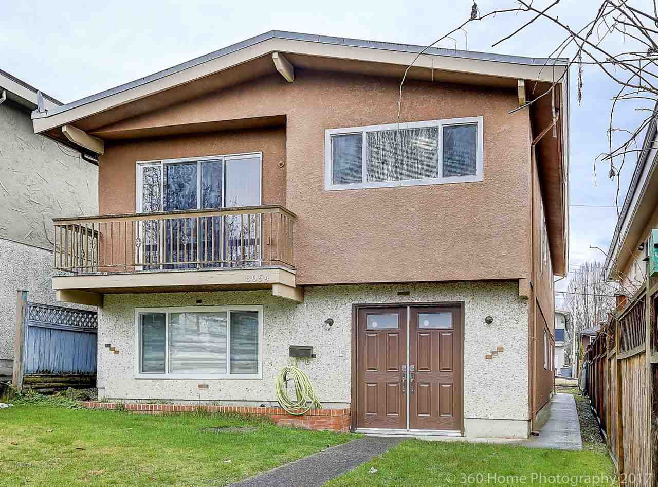 Main Photo: 8054 CHESTER Street in Vancouver: South Vancouver House for sale (Vancouver East)  : MLS®# R2229868