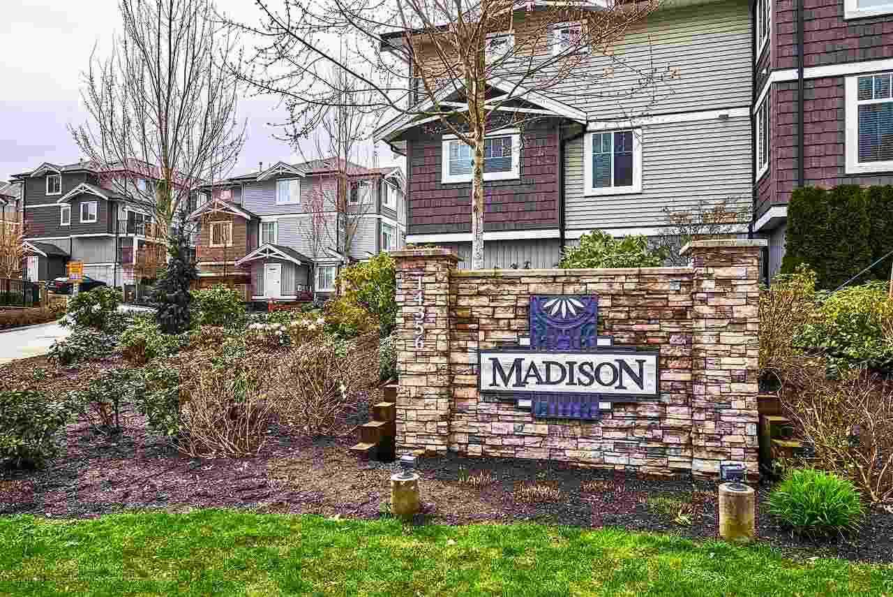 "Main Photo: 22 14356 63A Avenue in Surrey: Sullivan Station Townhouse for sale in ""THE MADISON"" : MLS®# R2231849"