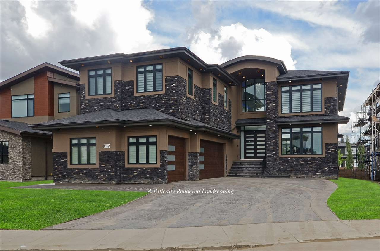 Main Photo: 919 WOOD Place in Edmonton: Zone 56 House for sale : MLS®# E4140831