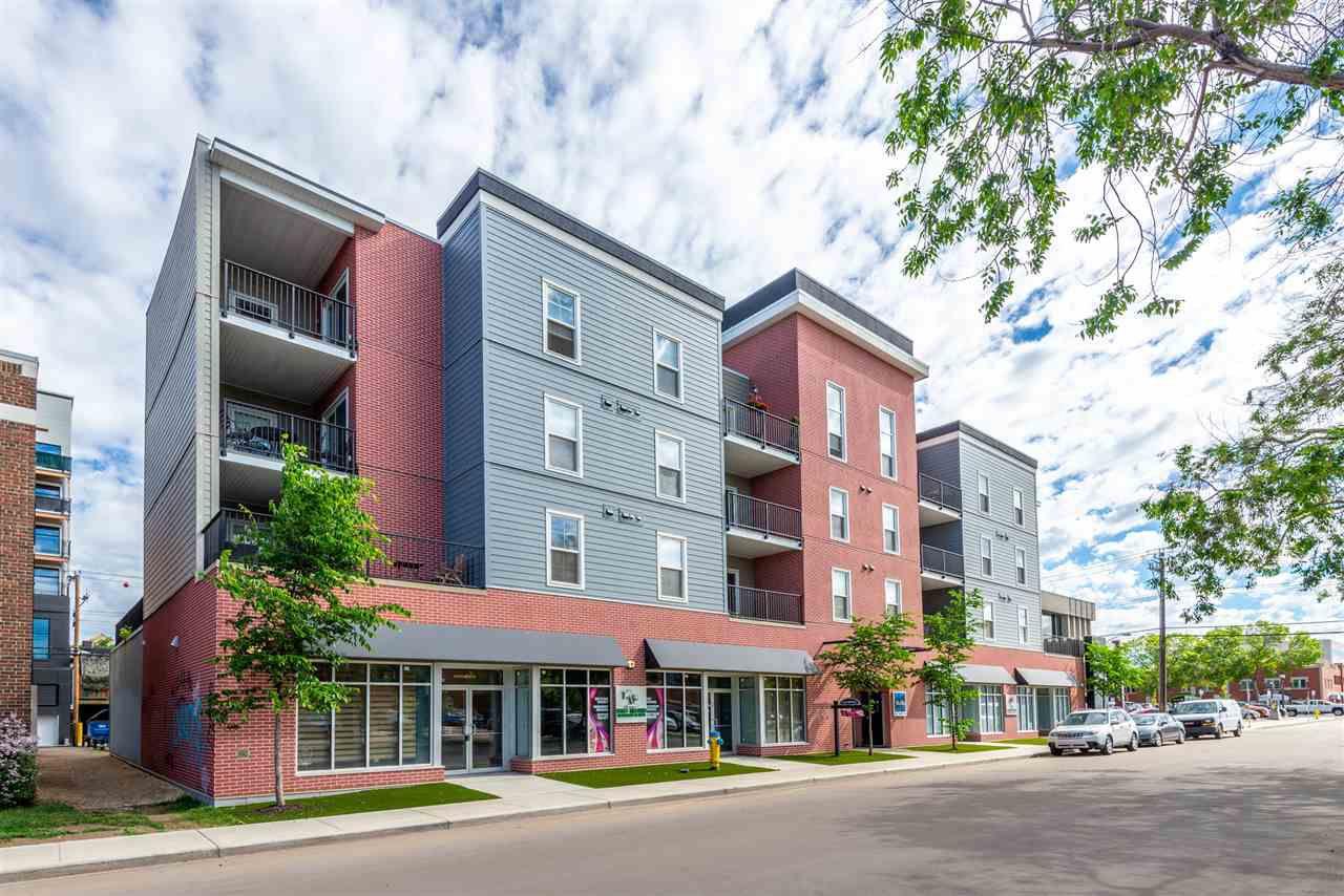 Main Photo: 307 10418 81 Avenue in Edmonton: Zone 15 Condo for sale : MLS®# E4161489