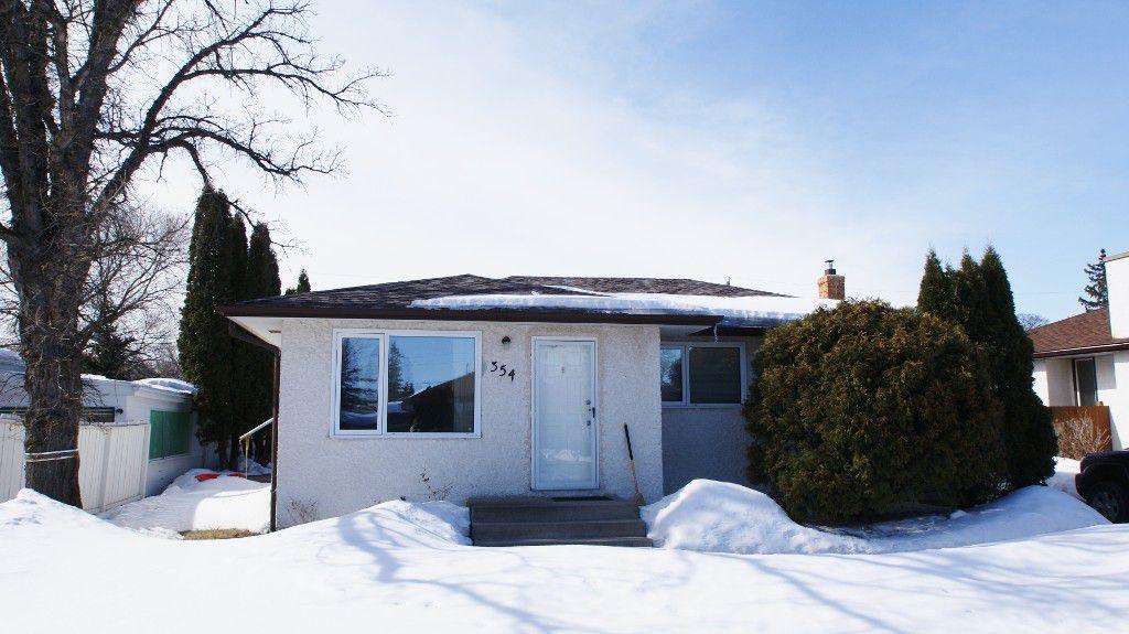 Main Photo: 354 Fearn Avenue in Winnipeg: North Kildonan Single Family Detached for sale (North East Winnipeg)  : MLS®# 1306502