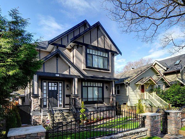 Main Photo: 4467 BLENHEIM Street in Vancouver: Dunbar House for sale (Vancouver West)  : MLS®# V1056589