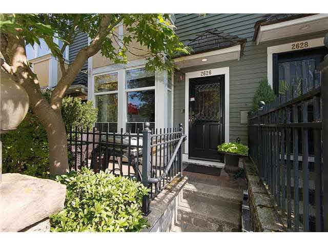 The townhouse style makes this home feel like a house. Greet your company at your own front door !