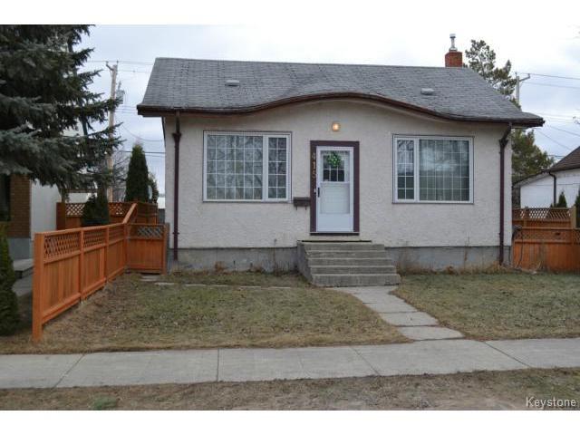 Main Photo: 415 Brooklyn Street in WINNIPEG: St James Residential for sale (West Winnipeg)  : MLS®# 1505642