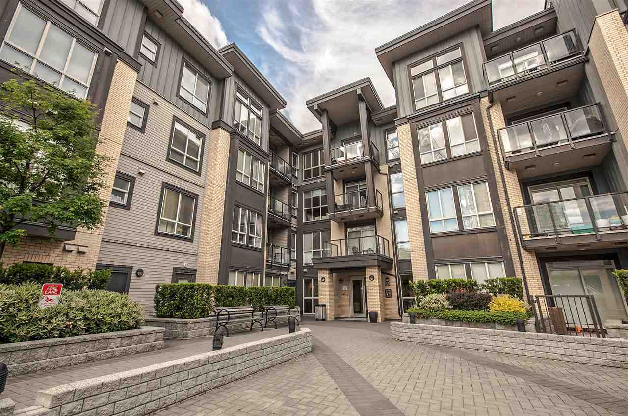"""Main Photo: 115 225 FRANCIS Way in New Westminster: Fraserview NW Condo for sale in """"The Whittaker"""" : MLS®# R2170820"""