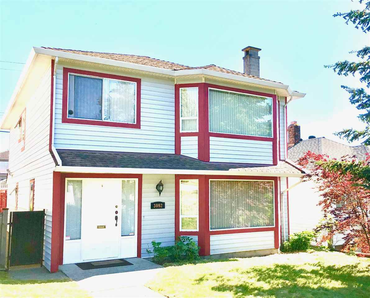 Main Photo: 3092 E GEORGIA Street in Vancouver: Renfrew VE House for sale (Vancouver East)  : MLS®# R2272784