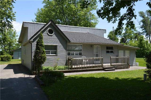 Main Photo: 2481 Lakeshore Drive in Ramara: Brechin House (1 1/2 Storey) for sale : MLS®# S4156254