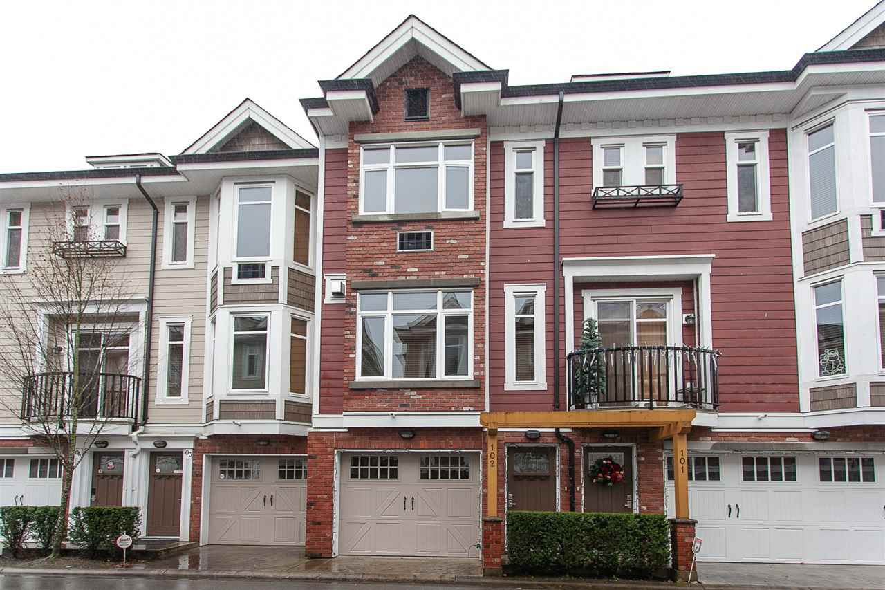 "Main Photo: 102 20738 84 Avenue in Langley: Willoughby Heights Townhouse for sale in ""Yorkson Creek"" : MLS®# R2328032"