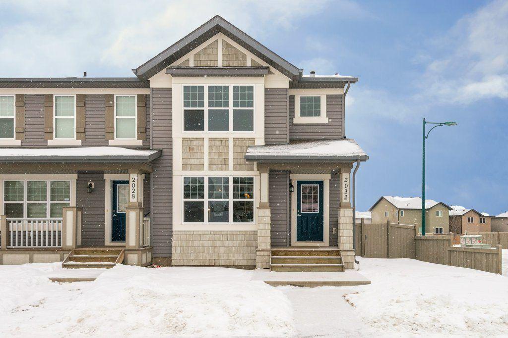 Main Photo: 2032 32 Street in Edmonton: Zone 30 House Half Duplex for sale : MLS®# E4140642