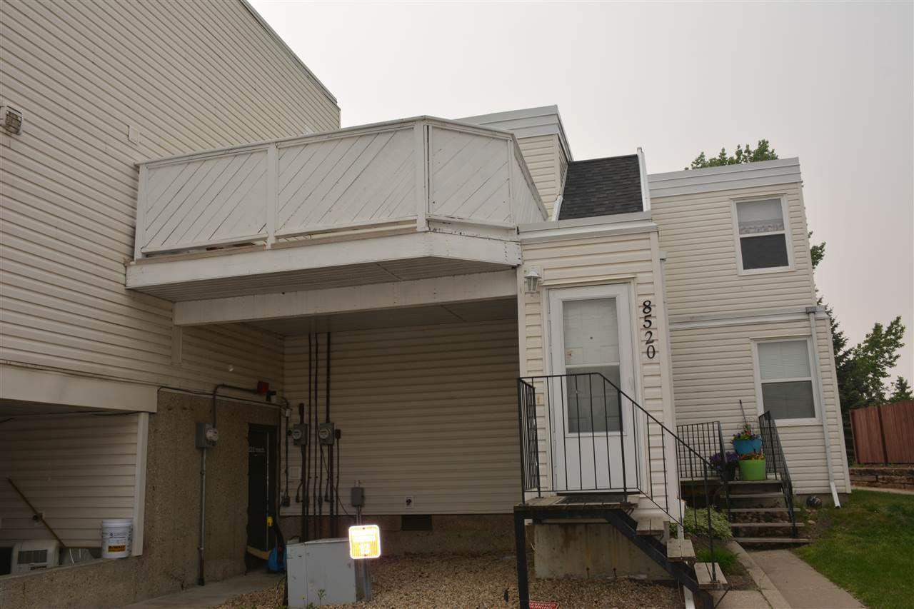 Main Photo: 8520 38A Avenue in Edmonton: Zone 29 Townhouse for sale : MLS®# E4160162