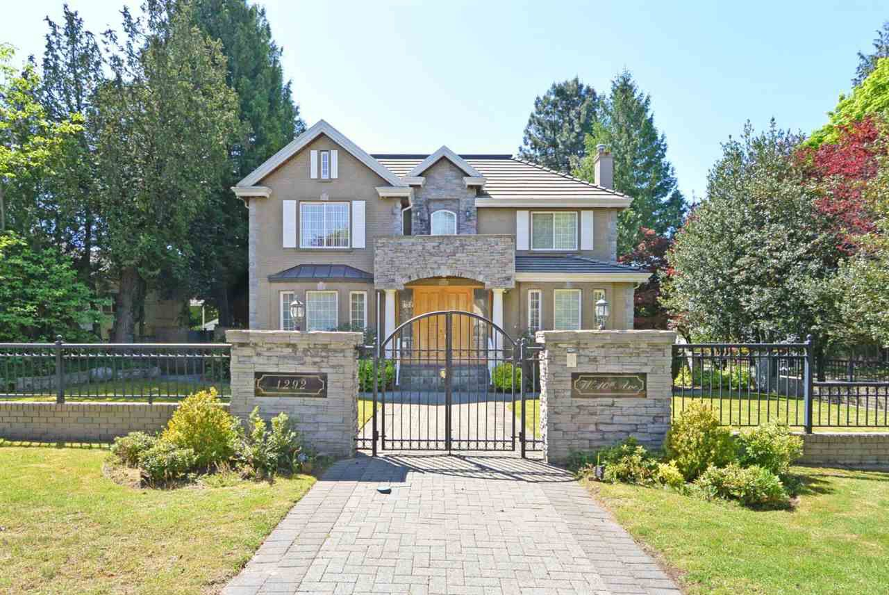 Main Photo: 1292 W 40TH Avenue in Vancouver: Shaughnessy House for sale (Vancouver West)  : MLS®# R2379730