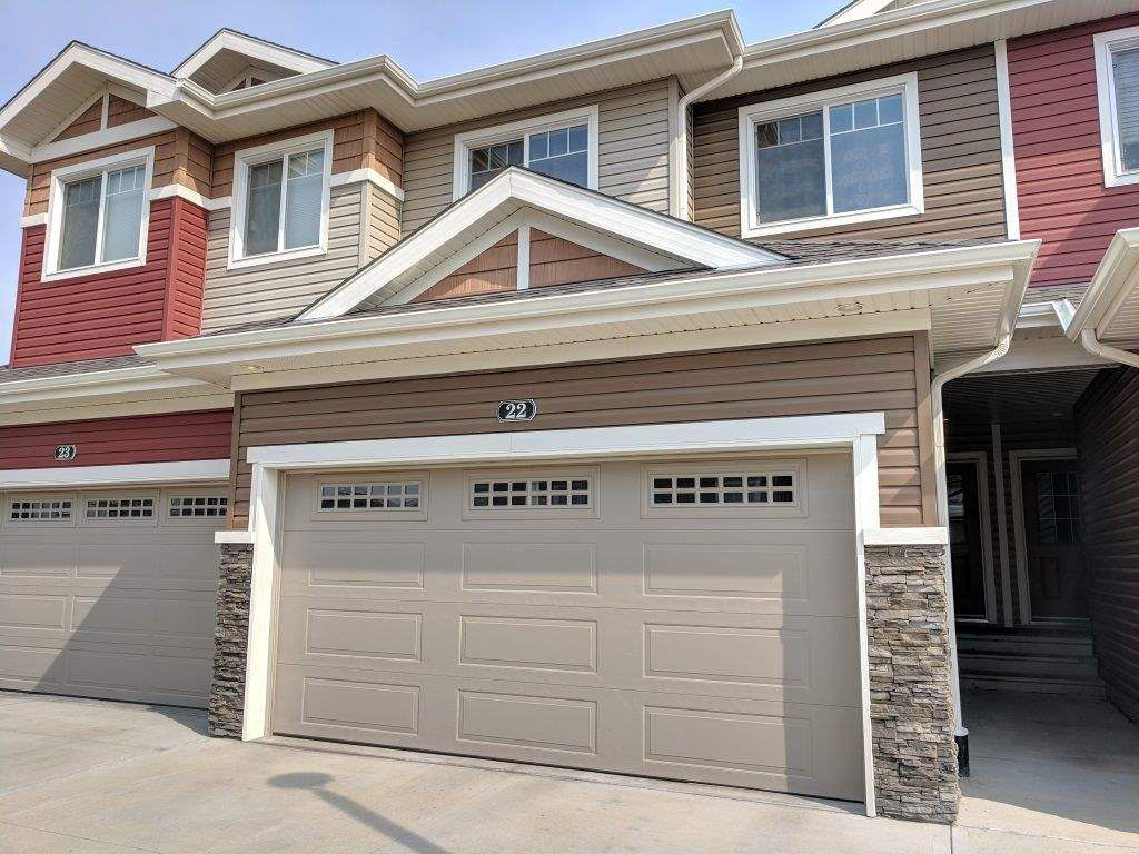 Main Photo: 22 3103 HILTON Drive in Edmonton: Zone 58 Townhouse for sale : MLS®# E4161642