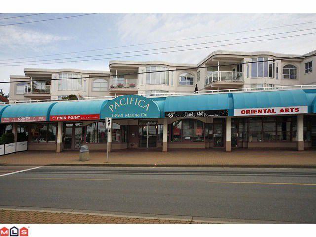 """Main Photo: 210 14965 MARINE Drive: White Rock Condo for sale in """"Pacifica"""" (South Surrey White Rock)  : MLS®# F1125552"""
