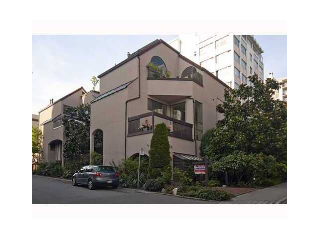 """Main Photo: 3 1019 GILFORD Street in Vancouver: West End VW Townhouse for sale in """"GILFORD MEWS"""" (Vancouver West)  : MLS®# V927382"""