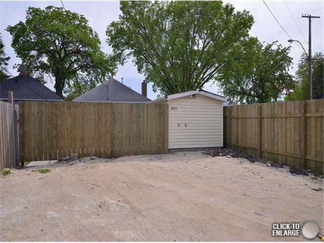 Photo 20: Photos: 651 Manhattan Avenue in WINNIPEG: East Kildonan Single Family Detached for sale (North East Winnipeg)  : MLS®# 1311281