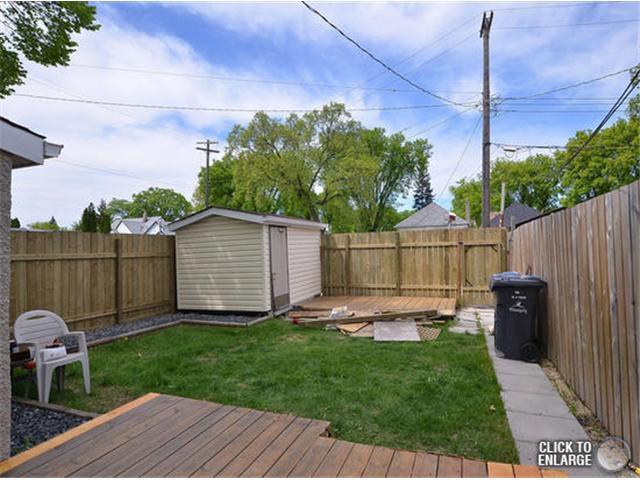 Photo 18: Photos: 651 Manhattan Avenue in WINNIPEG: East Kildonan Single Family Detached for sale (North East Winnipeg)  : MLS®# 1311281