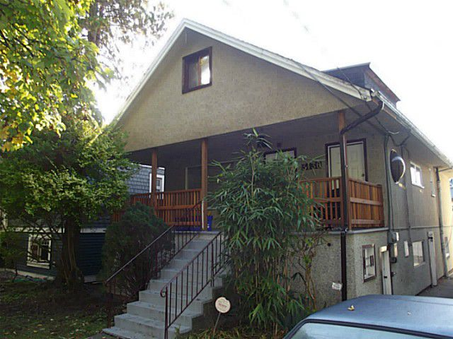 Main Photo: 3130 W 6TH Avenue in Vancouver: Kitsilano House for sale (Vancouver West)  : MLS®# V1032080