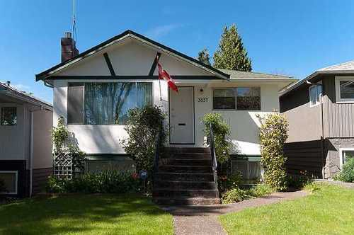 Main Photo: 3857 24TH Ave W in Vancouver West: Dunbar Home for sale ()  : MLS®# V950596