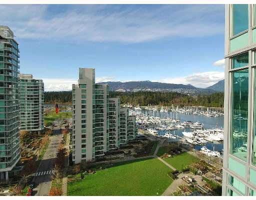 Main Photo: # 1501 1650 BAYSHORE DR in Vancouver: Coal Harbour Condo for sale (Vancouver West)  : MLS®# V634329