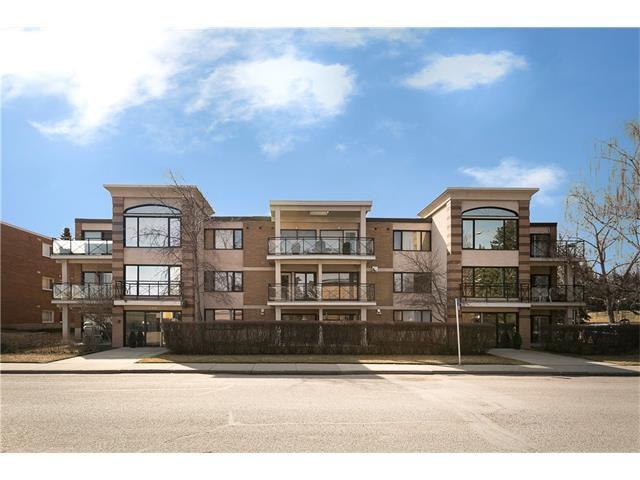 Main Photo: 1 4907 8 Street SW in Calgary: Britannia Condo for sale : MLS®# C4110034