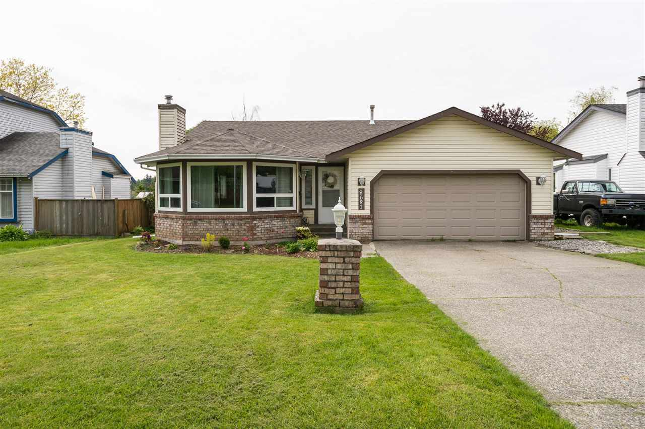 """Main Photo: 8681 150 Street in Surrey: Bear Creek Green Timbers House for sale in """"Green Timbers"""" : MLS®# R2168414"""