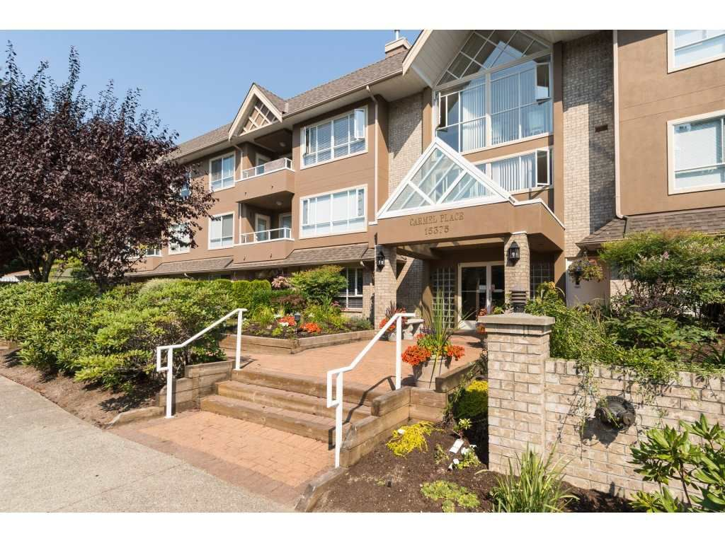 "Main Photo: 106 15375 17 Avenue in Surrey: King George Corridor Condo for sale in ""Carmel Place"" (South Surrey White Rock)  : MLS®# R2200991"