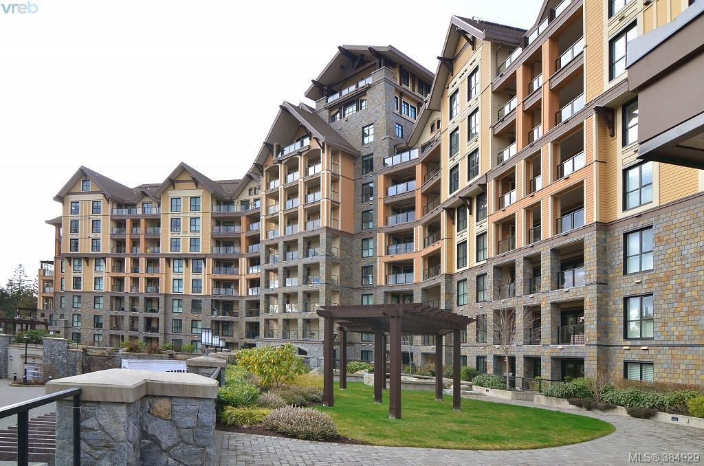 Main Photo: 321 1400 Lynburne Place in VICTORIA: La Bear Mountain Condo Apartment for sale (Langford)  : MLS®# 384929