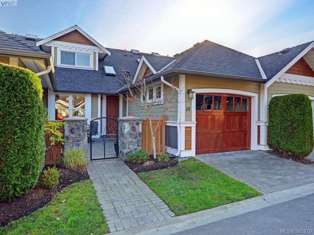 Main Photo: 18 10520 McDonald Park Road in NORTH SAANICH: NS McDonald Park Townhouse for sale (North Saanich)  : MLS®# 385279