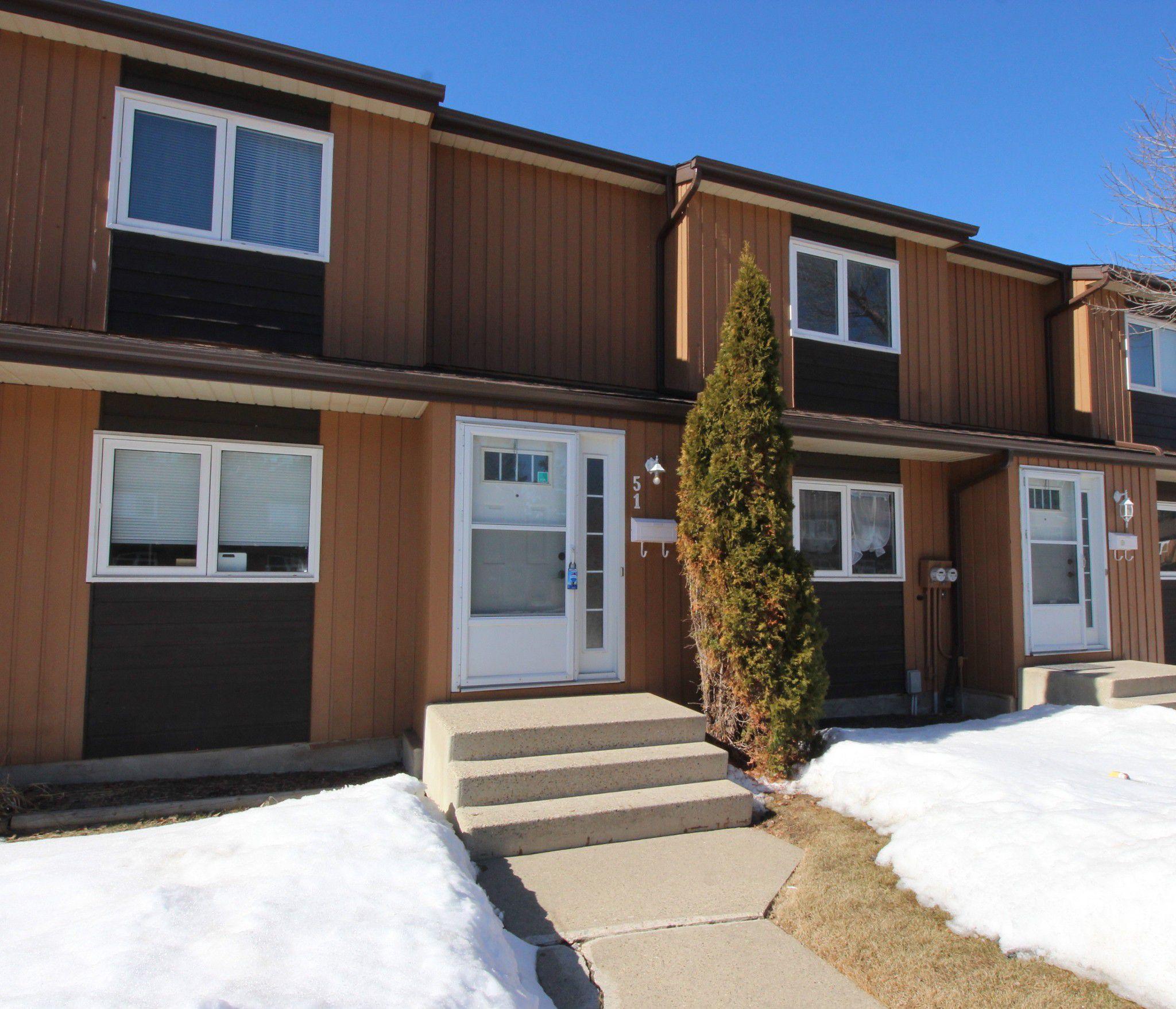 Main Photo: 51 3115 119 Street in Edmonton: Townhouse for sale