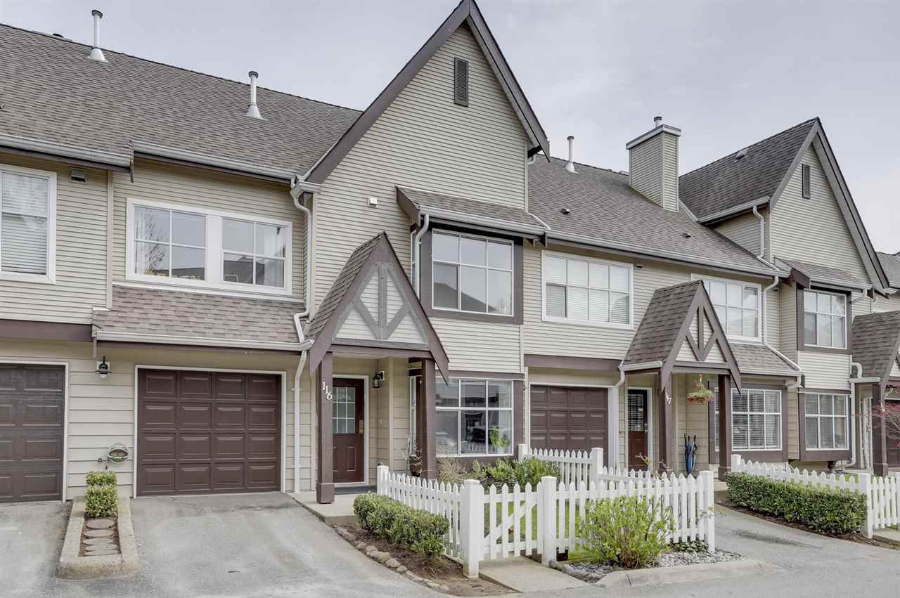 Main Photo: 116 12099 237 Street in Maple Ridge: East Central Townhouse for sale : MLS®# R2277207