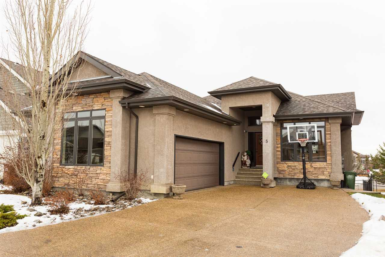 Main Photo: 5 Normandeau Crescent: St. Albert House for sale : MLS®# E4136133