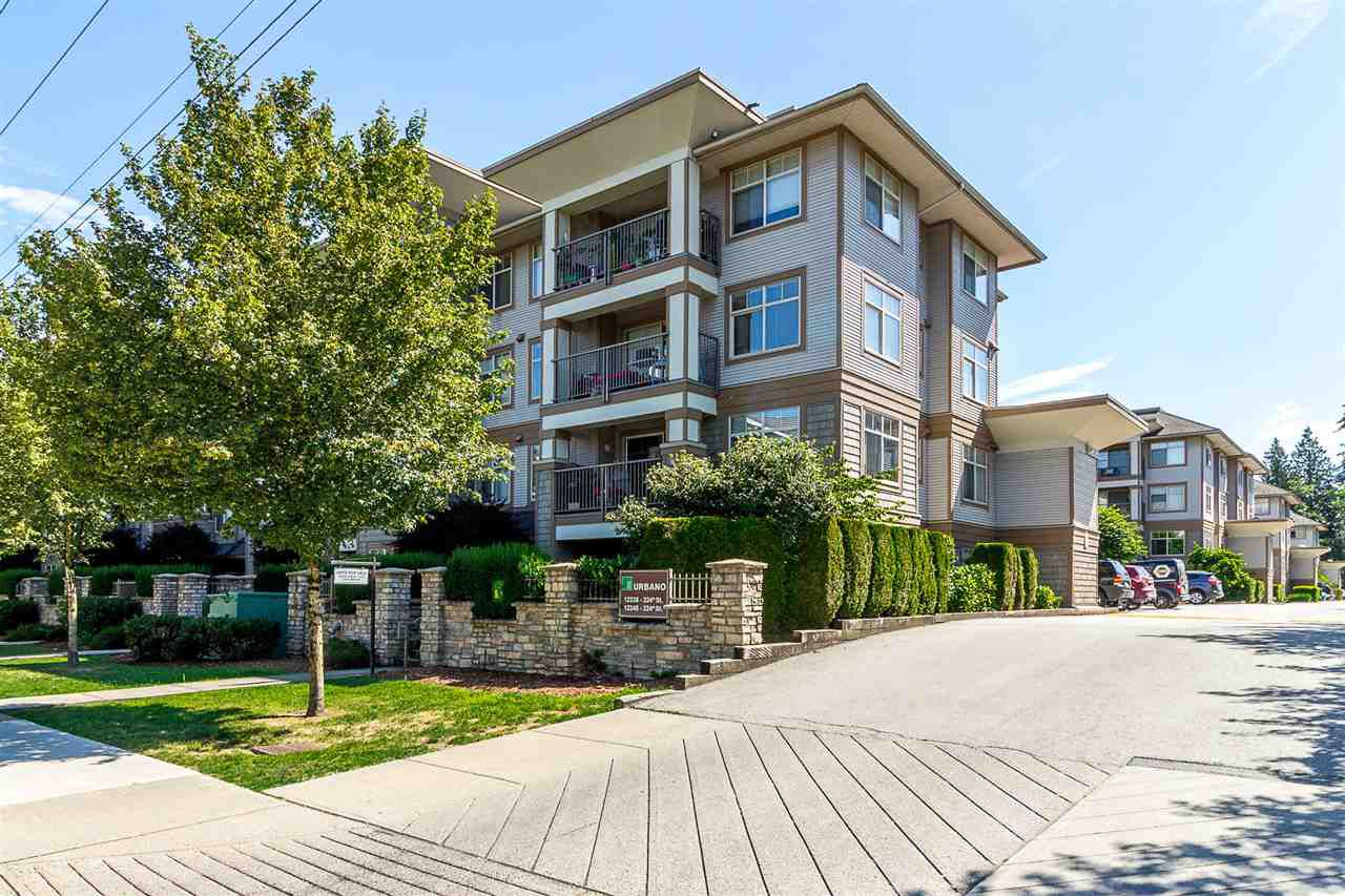 "Main Photo: 427 12238 224 Street in Maple Ridge: West Central Condo for sale in ""URBANO"" : MLS®# R2333645"