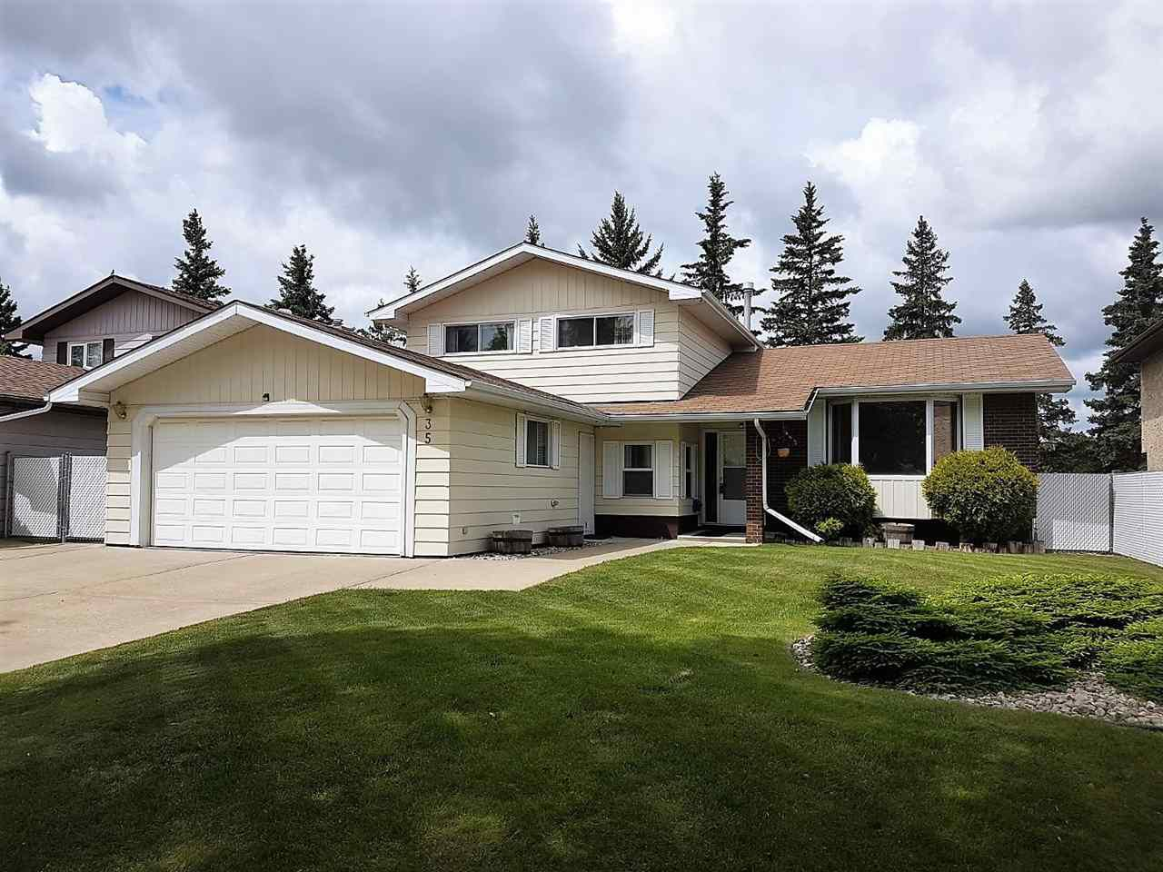 Main Photo: 35 ABBEY Crescent: St. Albert House for sale : MLS®# E4162596