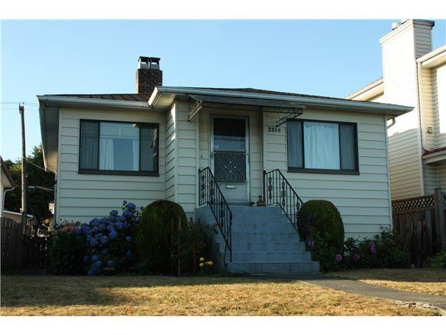 Main Photo: 2839 E BROADWAY in Vancouver: Renfrew VE House for sale (Vancouver East)  : MLS®# V1133761