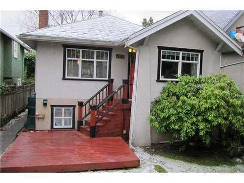 Main Photo: 707 11TH Ave E in Vancouver East: Mount Pleasant VE Home for sale ()  : MLS®# V920461