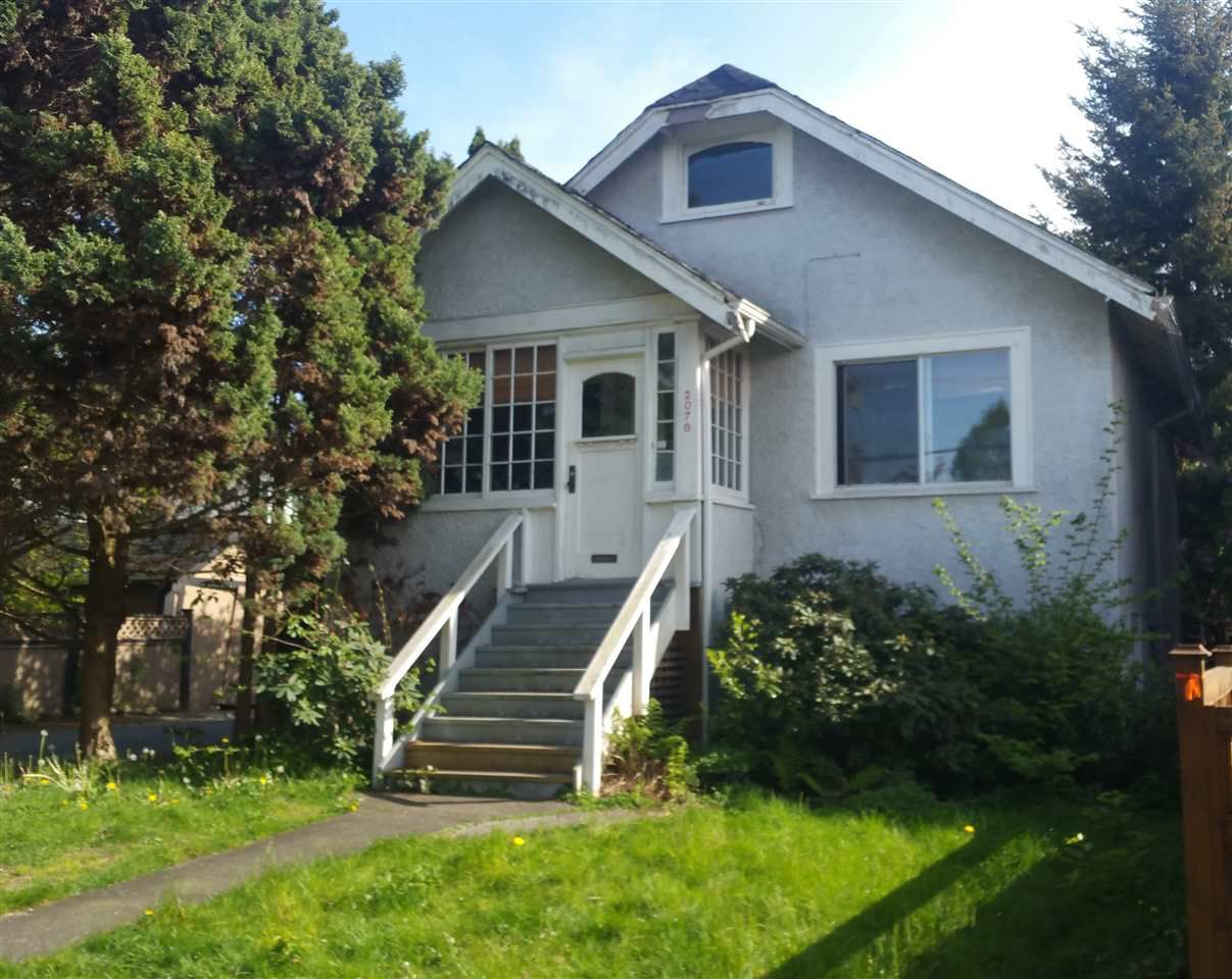Main Photo: 2078 CHARLES Street in Vancouver: Grandview VE House for sale (Vancouver East)  : MLS®# R2060541
