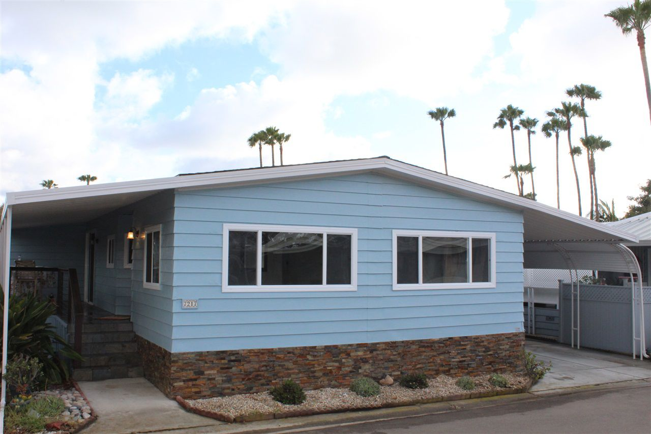 Main Photo: CARLSBAD WEST Manufactured Home for sale : 2 bedrooms : 7217 San Bartolo #384 in Carlsbad